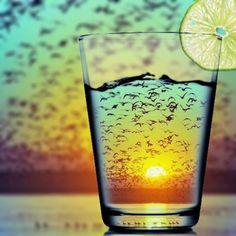 Sunset refraction…