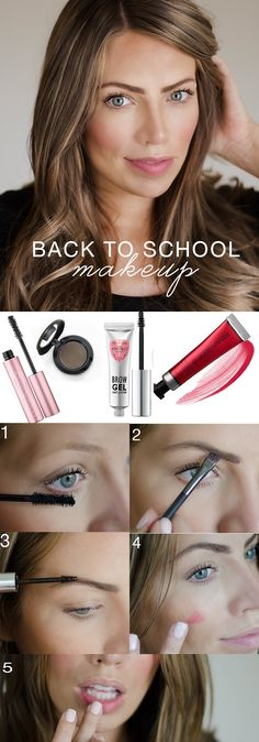 Love this! Super simple makeup that will take minutes and look good all day!