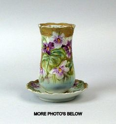 beauti china, nippon porcelain, hatpin holder, attract china