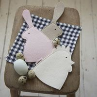 Felt Bunny Egg Cosies