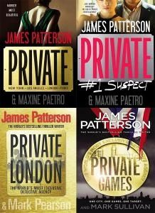 James Patterson Private Series Order | James Patterson Private Series