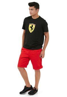 Ferrari Bermuda shorts for the lovers of all things Ferrari and fashion! Pinned via www.namshi.com
