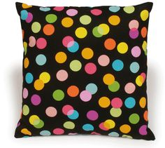 polka dot pillow