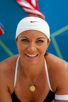 LIKE MISTY MAY TREANOR to put her in the AT & T Facebook cover photo on July 27th.