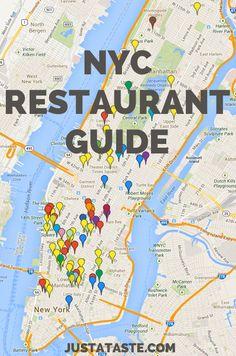 New York City Restaurant Guide @Kelly Teske Goldsworthy Teske Goldsworthy Senyei | Just a Taste