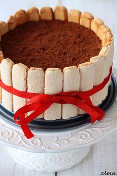 Tiramisu Chocolate Charlotte Cake