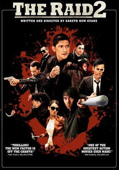 The Raid 2 is the sequel to the original Indonesian film, the Raid and the formula works as well as the original. The storyline is different this time as the main character, a cop, goes underground and joins a  criminal organization. The action is just as strong as the original and I really love these action filled but intelligent scripted films. Very good.
