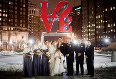Winter wedding faux fur shrugs! Such a cute look. http://foxglovebridal.com/real-bride-2/