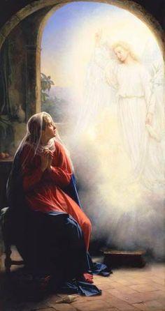 Annunciation by Carl Bloch