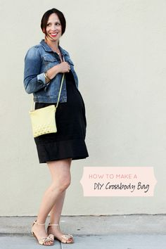 How To Make A DIY Leather Crossbody Bag
