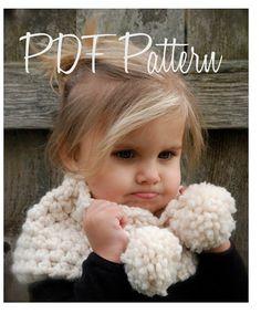 Crochet PATTERNThe Bella Warmer Toddler Child by Thevelvetacorn, $5.50