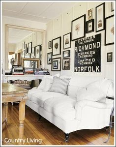 frame collag, living rooms, gallery walls, black white, urban farmhouse