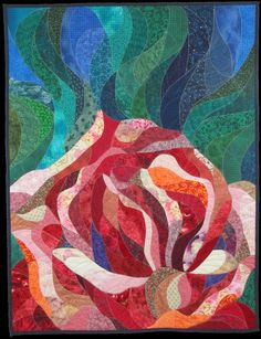 "Rose, 48 x 37"", by Vanessa Brisson 
