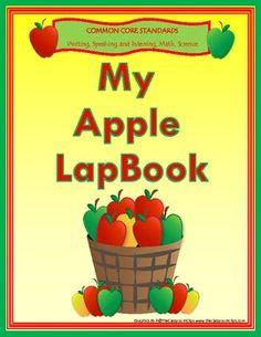 Common Core Apple Lapbook