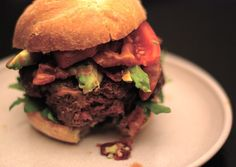 The ABC Burger: Avocado Bacon and Chipotle