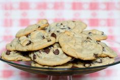 Chewy Chocolate Chip Cookies » With Sprinkles on Top