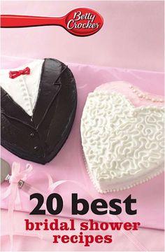 Bargain e-Cookbook: Betty Crocker 20 Best Bridal Shower Recipes {99 cents!} #wedding #showers