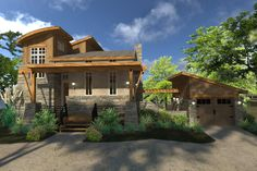 Looking for the perfect tiny cabin getaway for your beach, lake or mountain property, then you'll want to check out the Colina de Cobre House Plan 9040 featuring 2 Bedrooms and 2 Baths. As an added bonus there's a one car garage attached by a trellis. Let us know what you think of the newest #houseplan addition to our Tiny House Plan Collection. http://www.thehousedesigners.com/plan/colina-de-cobre-9040/