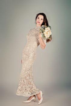 Crochet Lace Wedding Dress