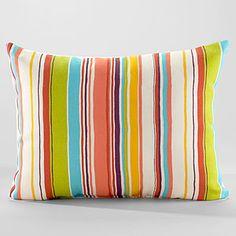 Bali Stripe Lumbar Pillow at Cost Plus World Market