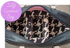 DIY Camera Bag! #camera #bags