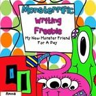 This is a freebie narrative/descriptive writing activity. Students will write about a new monster friend they met for a day and how they spent the ...