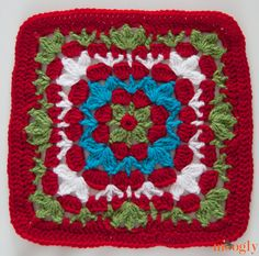 Catalina Square! Join the #crochet - a - long on Moogly!  This is pattern two posted week 4 Jan 2014