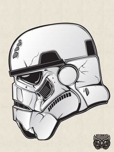 StormTrooper - Recent Illustrations 2012 by Joshua M. Smith, via Behance