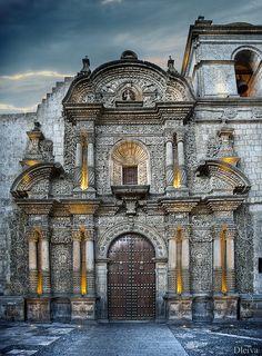 Iglesia de la Compañia - Arequipa, Peru