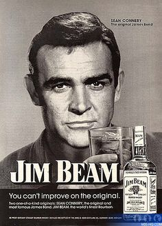 Jim Beam Bourbon ad