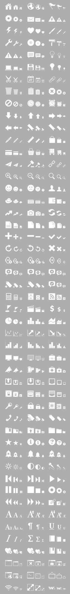 Retina Display Free Icon Set