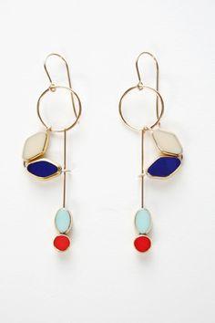 Rooni Kappos Glass Earrings.