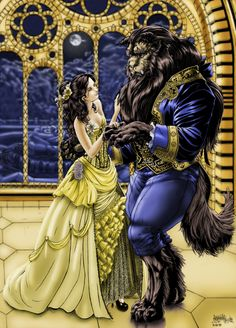 What an interesting spin on the Disney beauty & the Beast.