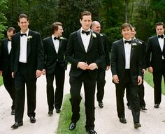 casual groom and groomsmen - simple bouts | A Bryan Photo