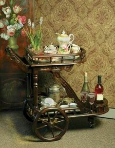 Mrs Crumpet's Tea Cart $399