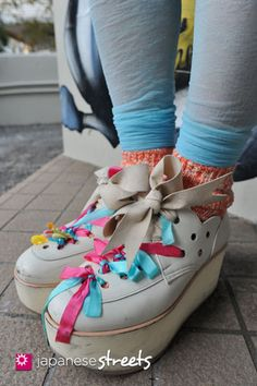 Tokyo Bopper shoes.  (japanese streets)