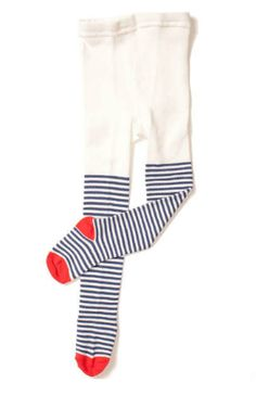hansel from basel nautical stripe tights.