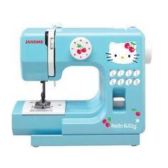 Hello Kitty Sewing Machine!