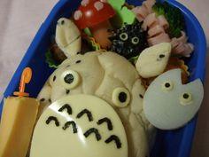 Totoro charaben by mosogourmet