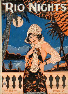 1920's Art deco illustration