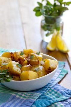 Lemon and Oregano Potatoes
