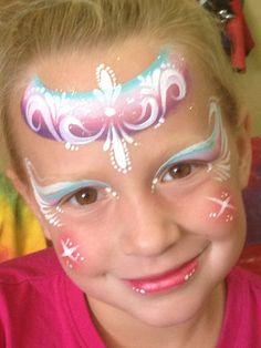 Karen Sawyer || one stroke tear drop princess.