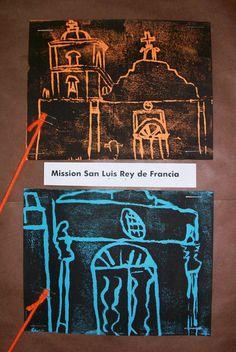 Ca mission block prints