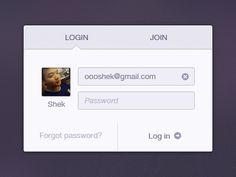 Login by Scardi Shek