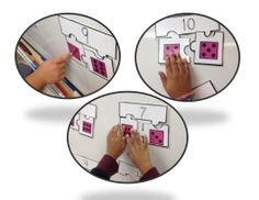 Part Part Whole Puzzles.  Students will have so much fun as they learn number relationships!