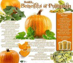 Health Benefits of Pumpkin.