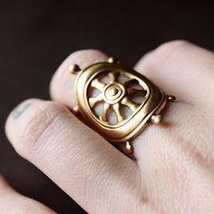 Adorable nautical ring.