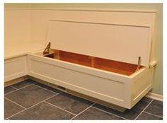 diy kitchen banquette seating with storage | Cozy Corner Banquette with Storage | Immersion Design