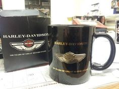 Harley Davidson 100th Anniversary Items | New and Used 1903-2003 100th Year Harley Davidson Anniversary Cup for ...