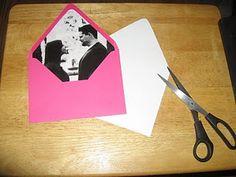 DIY Envelope liners